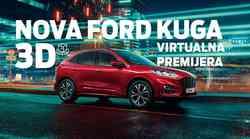 VIRTUALNA 3D PREMIJERA: Sjajna potpuno nova Ford Kuga na hrvatskom tržištu!