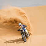 42 Van Beveren Adrien (fra), Yamaha, Monster Energy Yamaha Rally Team, Moto, Bike, action during the 11th stage of the Dakar 2021 between Al-'Ula and Yanbu, in Saudi Arabia on January 14, 2021 - Photo Frédéric Le Floc'h / DPPI (foto: Photo Frédéric Le Floc'h / DPPI)