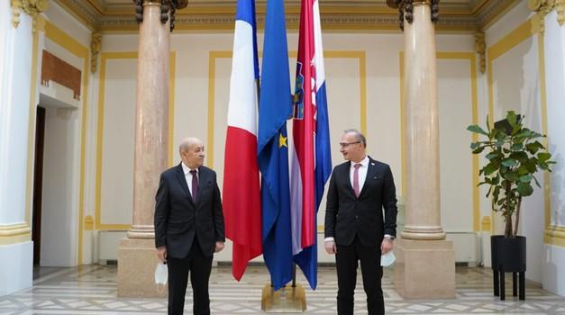 Francuski šef diplomacije: Razumijem želju Hrvatske da uđe u Schengen