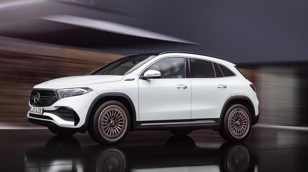 Mercedes-EQA – električni sportaš u kompaktnom formatu