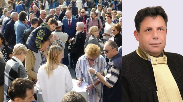 Kolakušićeva volontera rebnuli s 2000 kn kazne, jer je zakupio prostor za 80 kn i prikupljao potpise za kandidaturu. Volonteri drugih kandidata izvan fokusa Sesse i DORH-a