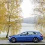 """Premijera: Mercedes-Benz C-klasa nije ništa drugo nego """"Genscher"""" u malom! Baby Benz i dalje jaše na valu limuzina, usprkos SUV trendova (foto: Mercedes-Benz)"""