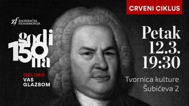 CRVENI CIKLUS ZAGREBAČKE FILHARMONIJE - Ovog petka u Tvornici kulture izvedba tri od ukupno šest Brandenburških koncerata Johana Sebastiana Bacha
