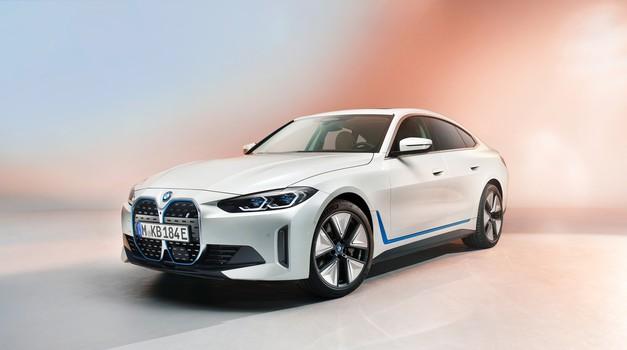 BMW i4 - Od 0 do 100 u 4 sekunde uz 590km električne autonomije
