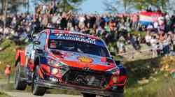 """""""Baba roga Hyundai"""" s Thierry Neuvilleom nakon prvog dana vodi ispred nadirajućeg  Sébastiena Ogiera u Toyota Yaris WRC koji je danas """"ulovio"""" 600. pobjedu na brzincu"""