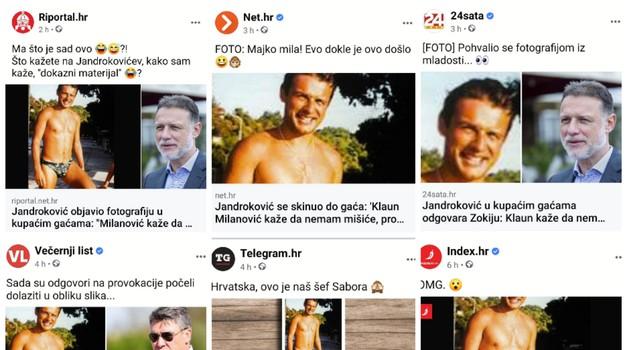 Jandroković i Milanović medijima daju krila - no comment