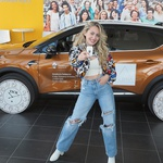 Albina nije osvojila Eurosong, no zato je postala zaštitinim licem Renaulta (foto: Renault)