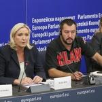 """Kakav samo """"auzmeš"""" u EU! Merkel i Macron u panici. Marine Le Pen u društvu Salvinija, Orbana, Morawieckog, Tomašić, nova skupina zvat će se Europa nacija i sloboda (foto: Philippe BUISSIN, Copyright © European Union 2020 - Source: EP)"""