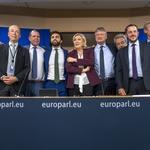 """Kakav samo """"auzmeš"""" u EU! Merkel i Macron u panici. Marine Le Pen u društvu Salvinija, Orbana, Morawieckog, Tomašić, nova skupina zvat će se Europa nacija i sloboda (foto: DAINA LE LARDIC  Copyright © European Union 2021 - Source : EP)"""