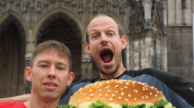 """Hamburger je to bolji što se više """"uflekate i usvinjite"""" i nije neka šteta kad je riječ o dobrom zalogaju"""