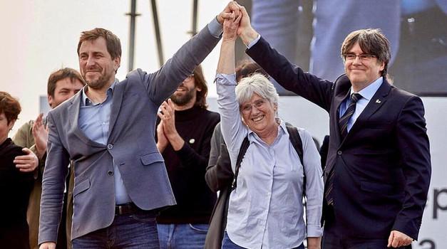 """Katalonska trojka """"oslobođena"""", Sud ukinuo odluku EU Parlametna i prihvatio žalbu, a i stav Kolakušića da pravo mora biti ispred politike"""