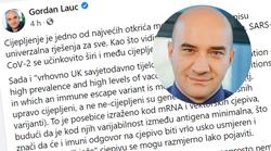 Znanstvenik Lauc: Cijepljeni prenose Covid-19, cijepljenjem ne štitimo druge, a djecu i mlade ne treba cijepiti