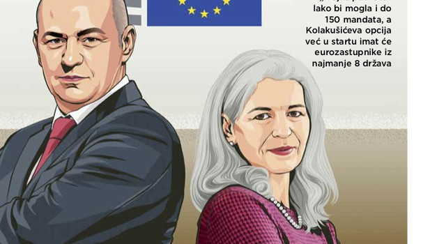 Tko je žena s kojom KOLAKUŠIĆ osniva novu stranku, izlaze na izbore i okupljaju najširu moguću koaliciju, HR zastuonik kao novi lider hrvatske oporbe - SVE U NOVOM STARTU koji je na svim kioscima