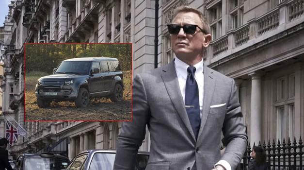 """VIDEO: 007 u posljednjem filmu Daniel Craiga """"Nije vrijeme za umiranje"""" vozi, a što drugo za oproštaj nego ponos britanske industrije, LAND ROVER DEFENDER BOND EDITION"""