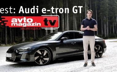 Top Gear na slovenski način, automobilistički hit na elektro pogon! Video test: Audija e-tron GT u režiji kultnog Avto Magazin TV