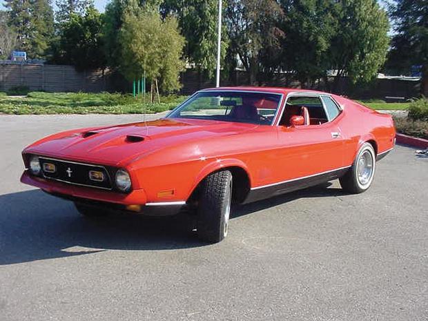 1971 Ford Mustang Mach 1, Diamonds Are Forever Godina prodaje: 2004 Vrijednost standardnog vozila: 9.200 GBP Vrijednost Bondovega vozila za …