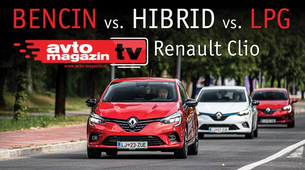 Video test: Benzin, hibrid ili LPG? Renault Clio - da se nas pita obrnutim redom