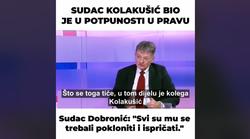 Kolakušićev štovatelj prvi čovjek HR pravosuđa: -  Mislav je bio potpuno u pravu i za to su mu se trebali nakloniti i ujedno ispričati. Đuro Sessa to ni u najgorim morama nije mogao očekivati